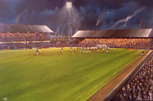 Chaddy End, Boundary Park, Oldham Athletic    20'' x 30'' Poster Print