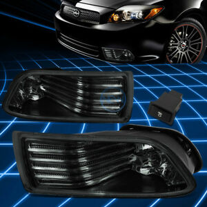 For 05-10 Scion tC Smoked Lens Front Driving Fog Lights w/Switch Replacement