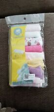 New Gerber Baby Wash Cloths 8 Pack 9 Inch X 9 Inch Cotton/Polyester