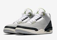 2018 Nike Air Jordan 3 III Retro Chlorophyll Tinker Smoke Grey 136064-006