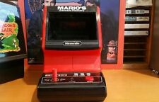Nintendo tabletop marios cement factory, taken apart, cleaned, new battery cover