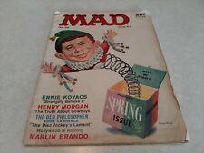 1957 June No. 33 MAD Magazine Alfred E. Neuman VG
