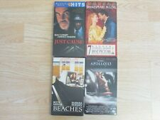 Lot Of 4 Vhs Movies: Beaches, Apollo 13, Shakespeare in Love,