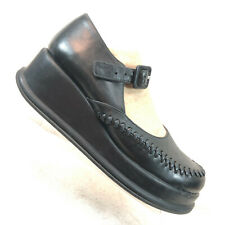 Robert Clergerie Black Mary Jane Platforms Women's Size US 6.5