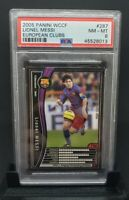 2005 Panini WCCF Soccer European Clubs #287 Lionel Messi PSA 8 NM-MT