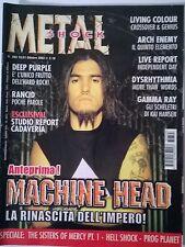 METAL SHOCK N°393/2003 MACHINE HEAD DEEP PURPLE RANCID GAMMA RAY ARCH ENEMY