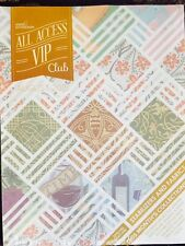 Anita Goodesign Embroidery Designs CD & BOOK ALL ACCESS VIP Club AUGUST 2015 NEW