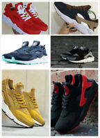 Hot Men Air Huarache Sport Shoes Sneakers Athletic Shoes white red