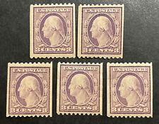 TDStamps: US Stamps Scott#489 (5) Mint NH OG