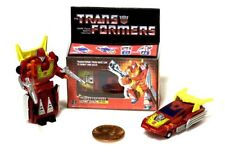 NEW WST G1 Hot Rod Transformers / Custom G1Box / Worlds Smallest Transformers