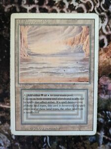 Underground Sea MTG Card - Revised Edition -SEE PICS - Magic The Gathering