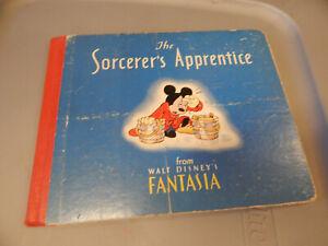 RARE 1940 The Sorcerer's Apprentice from Walt Disney's Fantasia