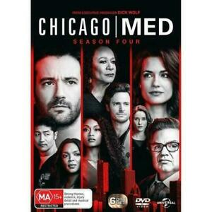 Chicago Med Season 4 BRAND NEW Region 4 DVD