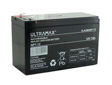 More details for ultramax np7-12, 12v 7ah sealed lead acid - agm - vrla battery