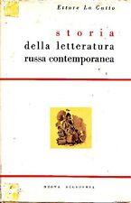 LO GATTO Ettore, Storia della letteratura russa contemporanea. Nuova Accademia