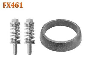 """2 3/8"""" Donut Gasket & Spring Bolts for Forester Matrix Corolla Exhaust Hardware"""