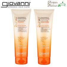 Giovanni Shampoo + Conditioner - Tangerine Butter + Papaya - Ultra-Volume