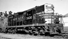 Southern Pacific (SP) #3436 Black & White Print