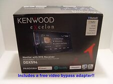 "NEW Kenwood DDX594 2-DIN Bluetooth In-Dash DVD/CD/AM/FM Stereo w/ 6.2"" Screen"