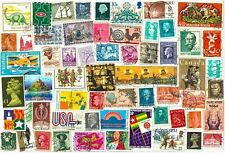 WORLD Collection 10 Stamps from 20 Countries ALL Different 200 Total Low Ship