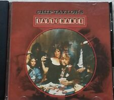 Chip Taylor's Last Chance - CD Train Wreck label - VG condition