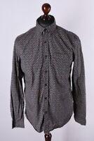 Desigual Multicolored Long Sleeve Shirt Size M