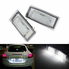 2x Eclairage Plaque d'immatriculation LED CANBUS Blanc Pour Audi TT 8N 1998-2006