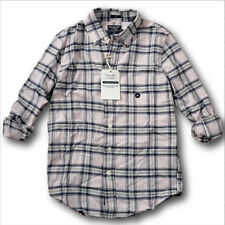NWT Abercrombie&Fitch Classic Plaid Shirt Flannel Oxford Twill 100% Cotton