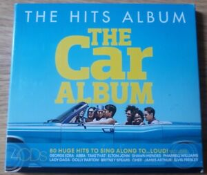 The hits album The car album quadruple Cd.