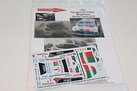 DECALS 1/43 PEUGEOT 207 S2000 MAGALHAES RALLYE MONTE CARLO 2010 RALLY WRC