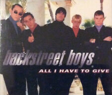 Backstreet Boys - All I Have To Give ( CD Maxi , 1998 )