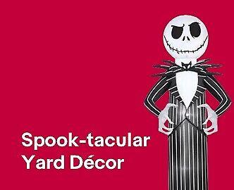 Spooktacular Yard Décor