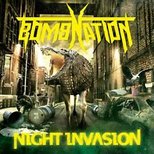 Bombnation-Night invasione (NEW * can THRASH METAL * SLAYER * Nuclear Assault)