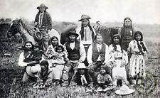 "OGDEN, UTAH ""Piute Indians"" in 1901 Reprint Vintage Photography"