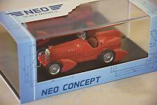 NEO 46295 - Alfa romeo P3 Tipo B aérodynamique rouge - 1934   1/43