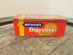 Vintage Mcvities Digestive Biscuits Tin