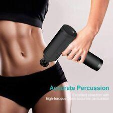 6 Speeds Massage Gun, Cordless Handheld Deep Tissue Massager, Chargeable Device