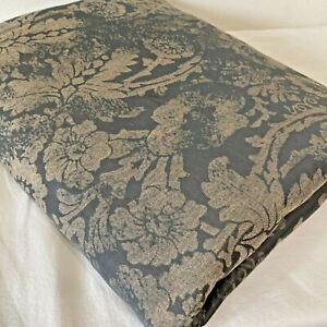 SDH Baton Rouge King Sz 90x104 Duvet Cover Floral Jacquard Egyptian Cotton Italy