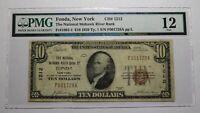 $10 1929 Fonda New York NY National Currency Bank Note Bill Ch. #1212 F12 PMG