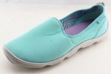 Crocs  Walking Shoes Blue Fabric Women8Medium (B, M)