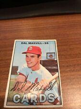 1967 Topps #421 Dal Maxvill St. Louis Cardinals Baseball Card