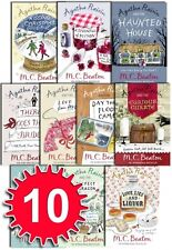 Agatha Raisin Series 2 Collection M C Beaton 10 Books Set Gift Pack 11-20