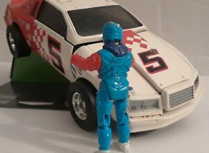 Kenner M.A.S.K. Razorback Thunderbird  NASCAR Racing  Brad Turner  Complete