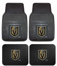Vegas Golden Knights NHL 4pc Car Mat Set Heavy Duty Vinyl