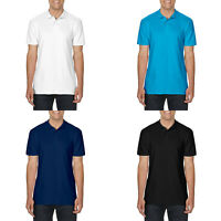 Gildan Softstyle Adult Double Pique Polo 100% Ring Spun Cotton