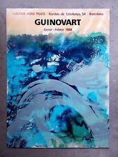Josep lissavetzky-ORIG. austellungsplakat-Galeria Joan Prats - 1988-X