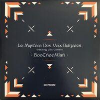 LE MYSTÈRE DES VOIX BULGARES : BOOCHEEMISH - [ CD ALBUM PROMO ]