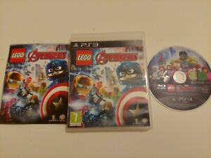 LEGO MARVEL AVERGERS PS3 PLAYSTATION 3 PREOWNED