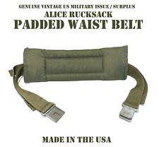 GRAY BUCKLE KIDNEY PAD WAIST STRAP BELT US MILITARY ALICE RUCKSACK BACKPACK RUCK