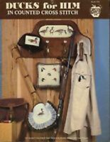 Ducks For Him Counted Cross Stitch Chart by Green Apple Book